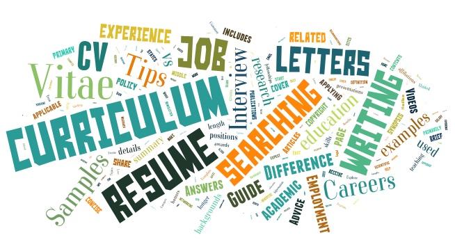 cv v rsume khc nhau nh no resume_vs_cv_word_cloud - Cv Va Resume Khac Nhau